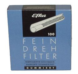 Efka Drehfilter blau 100 St.
