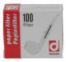 Denicotea Papier Filter 3mm 100 Stück