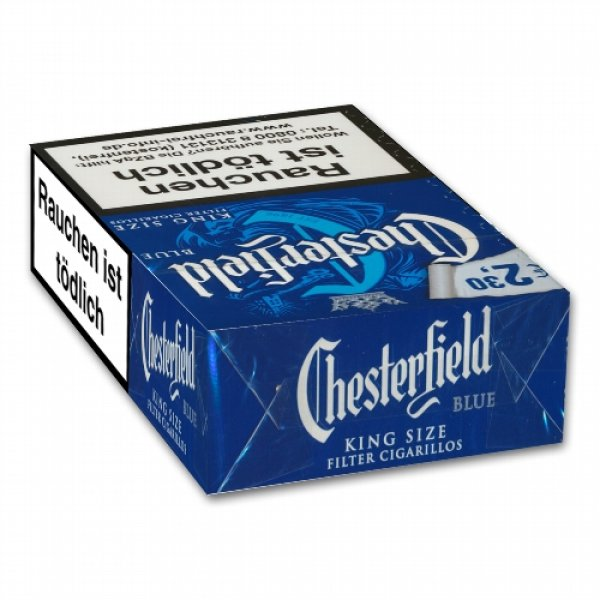 Chesterfield Blue Filter Cigarillos